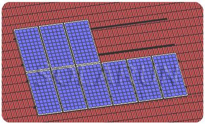 砖瓦结构屋顶光伏发电